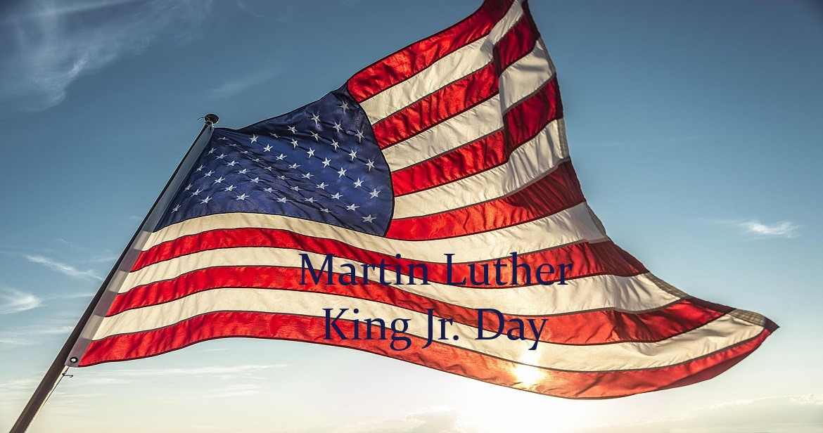 flag Martin Luther King Jr day